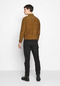 Serge Pariente - SYLVINO - Leather jacket - cognac - 2
