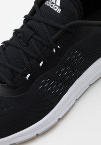 adidas Performance - TRAINER X - Obuwie treningowe - core black/footwear white/grey two - 5