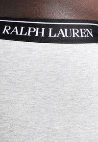 Polo Ralph Lauren - POUCH TRUNKS 3 PACK - Underkläder - andover heather/black/white - 3
