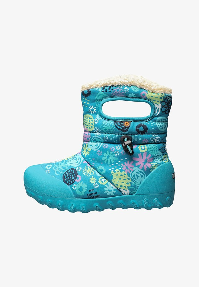 GARDEN PARTY  - Snowboots  - teal multi