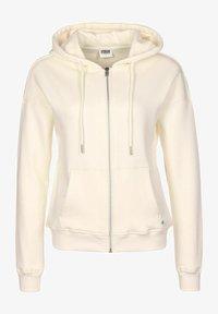 Urban Classics - Zip-up sweatshirt - beige - 0