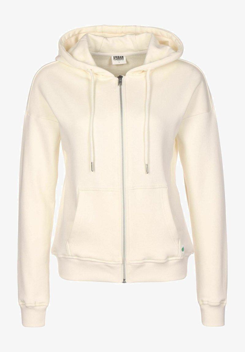 Urban Classics - Zip-up sweatshirt - beige