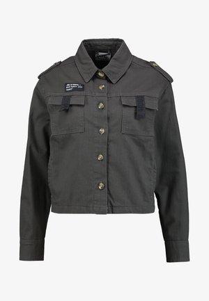 Lett jakke - anthracite