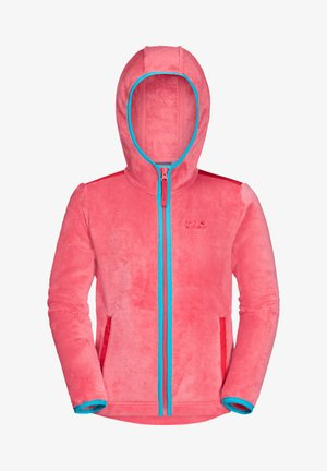 Fleece jacket - coral pink