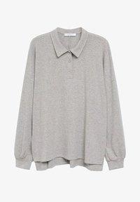 Violeta by Mango - ATHUR - Polo shirt - grau - 4