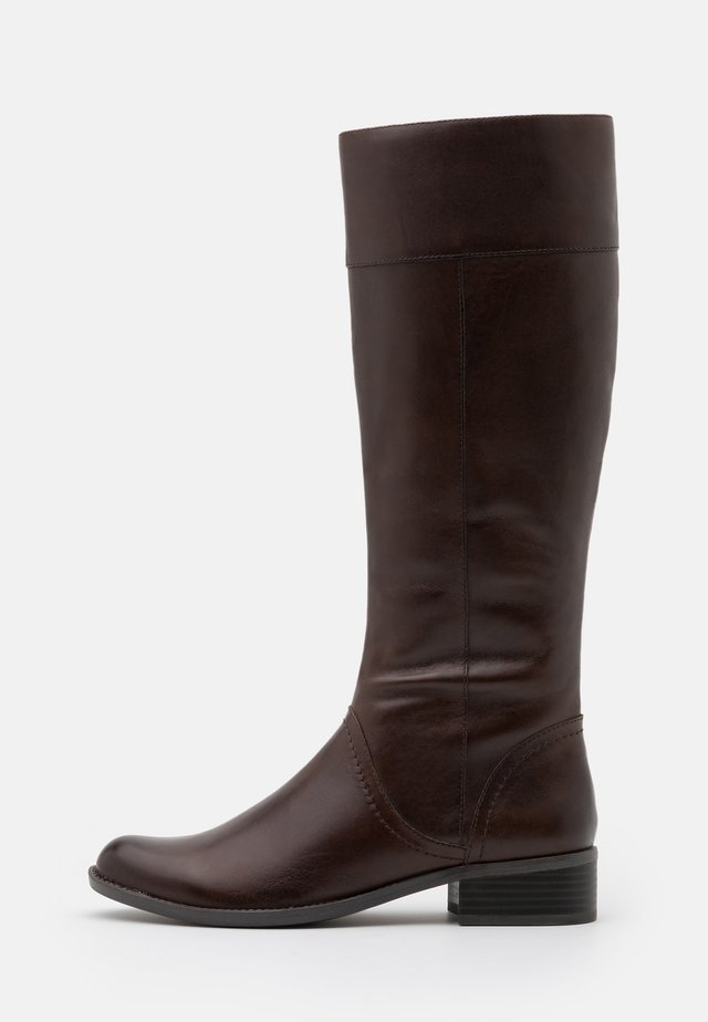 BOOTS - Stivali alti - dark brown