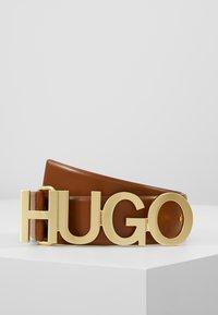 HUGO - ZULA BELT  - Ceinture - cognac - 0