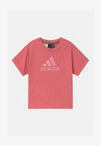 TEE - Print T-shirt - hazy rose melange