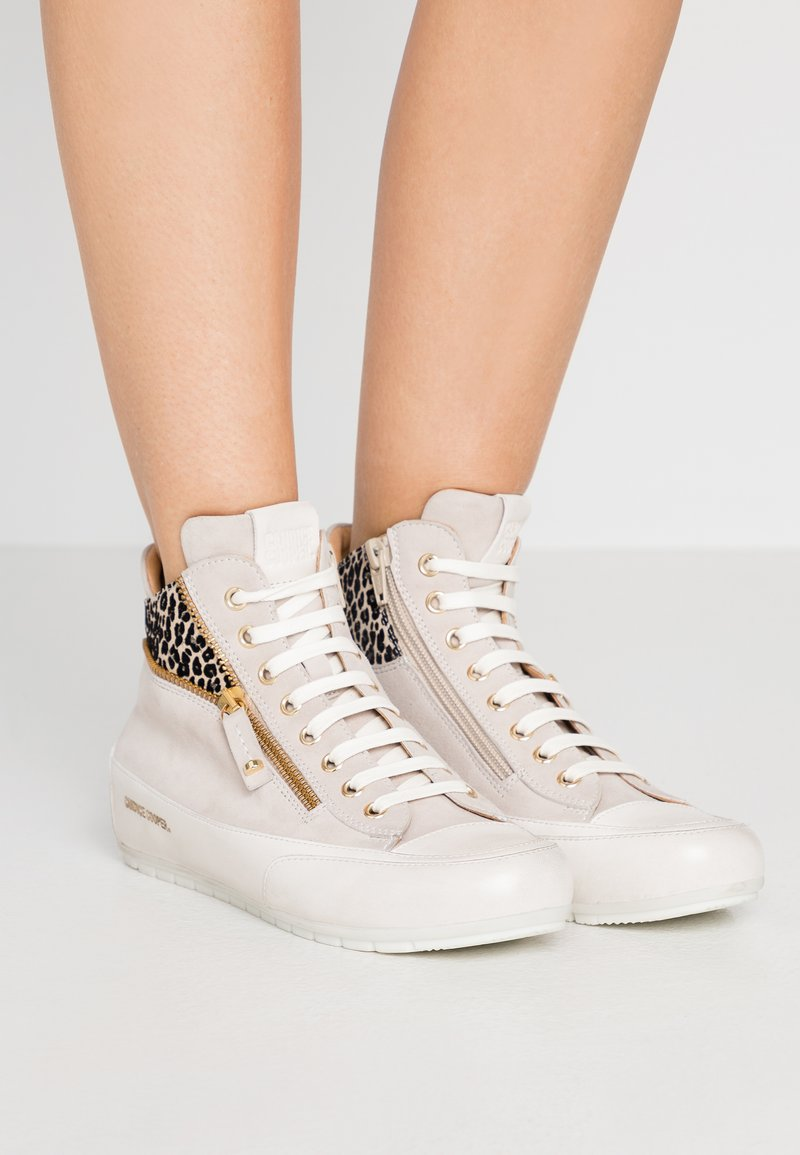 Candice Cooper - BEVERLY - Sneakers alte - tortora/gold