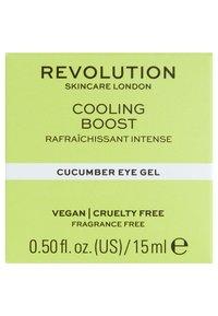 Revolution Skincare - COOLING BOOST CUCUMBER EYE GEL - Eyecare - - - 2