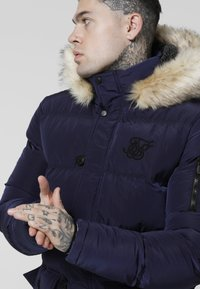 SIKSILK - PUFF - Cappotto invernale - navy - 4
