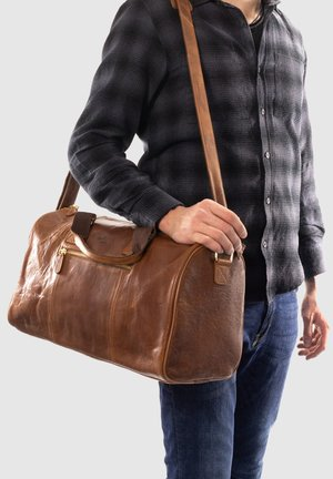 Holdall - honey brown
