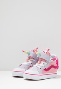 Vans - UNICORN SK8 REISSUE - High-top trainers - pink icing/lavender blue - 3