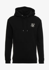 SIKSILK - MUSCLE FIT OVERHEAD HOODIE - Huppari - black - 3