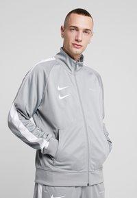 Nike Sportswear - Verryttelytakki - particle grey/white/black - 0
