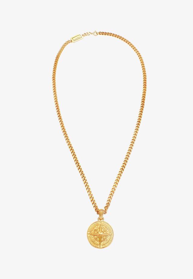 KOMPASS - Necklace - gold