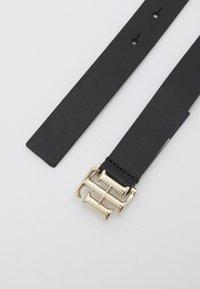Tommy Hilfiger - LOGO - Belt - black - 1