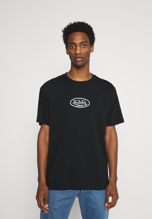 LAKE - T-shirt imprimé - black beauty
