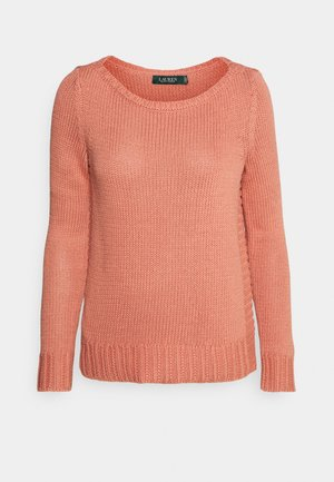 STELLAR BOAT NECK - Jumper - mosaic pink