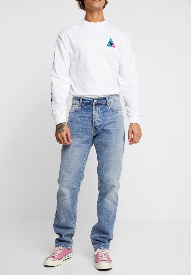 KLONDIKE MILLS - Jeans a sigaretta - blue worn bleached