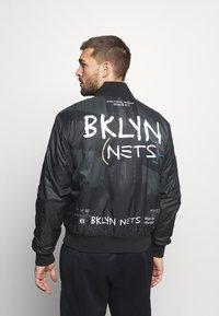 Nike Performance - NBA BROOKLYN NETS CITY EDITION JACKET - Träningsjacka - black - 2