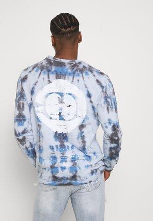 TYE DYE MOON - Sweatshirt - blue