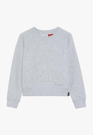 GIRLS COKE BOXY CREW - Sweatshirt - soft grey