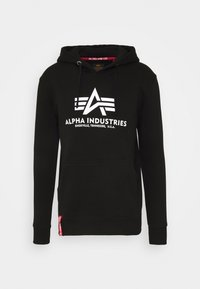 Alpha Industries - BASIC HOODY REFLECTIVE  - Luvtröja - black - 4