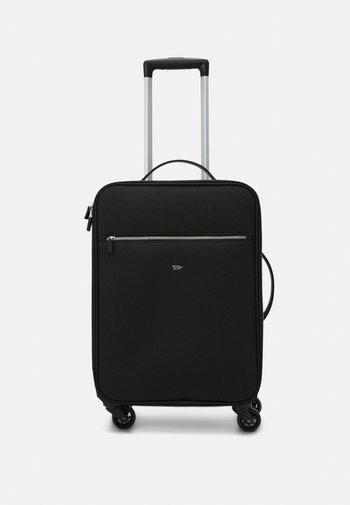 BIGHT UNISEX - Wheeled suitcase - black