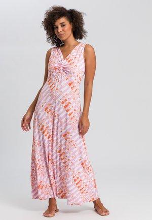 Maxi dress - pink varied