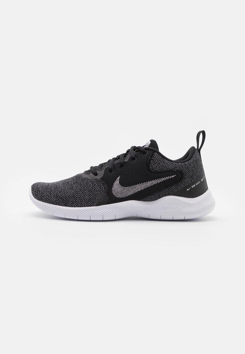 Nike Performance - FLEX EXPERIENCE - Chaussures de running neutres - black/white/dark smoke grey/iron grey