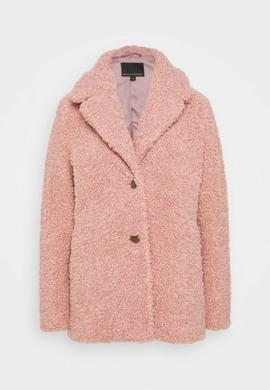 COLLAR JACKET - Winter coat - nude rose