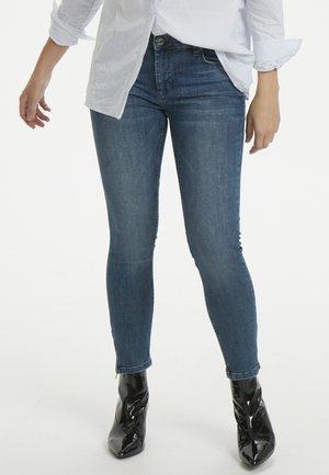 THE CELINAZIP CUSTOM - Jeans Skinny Fit - medium blue
