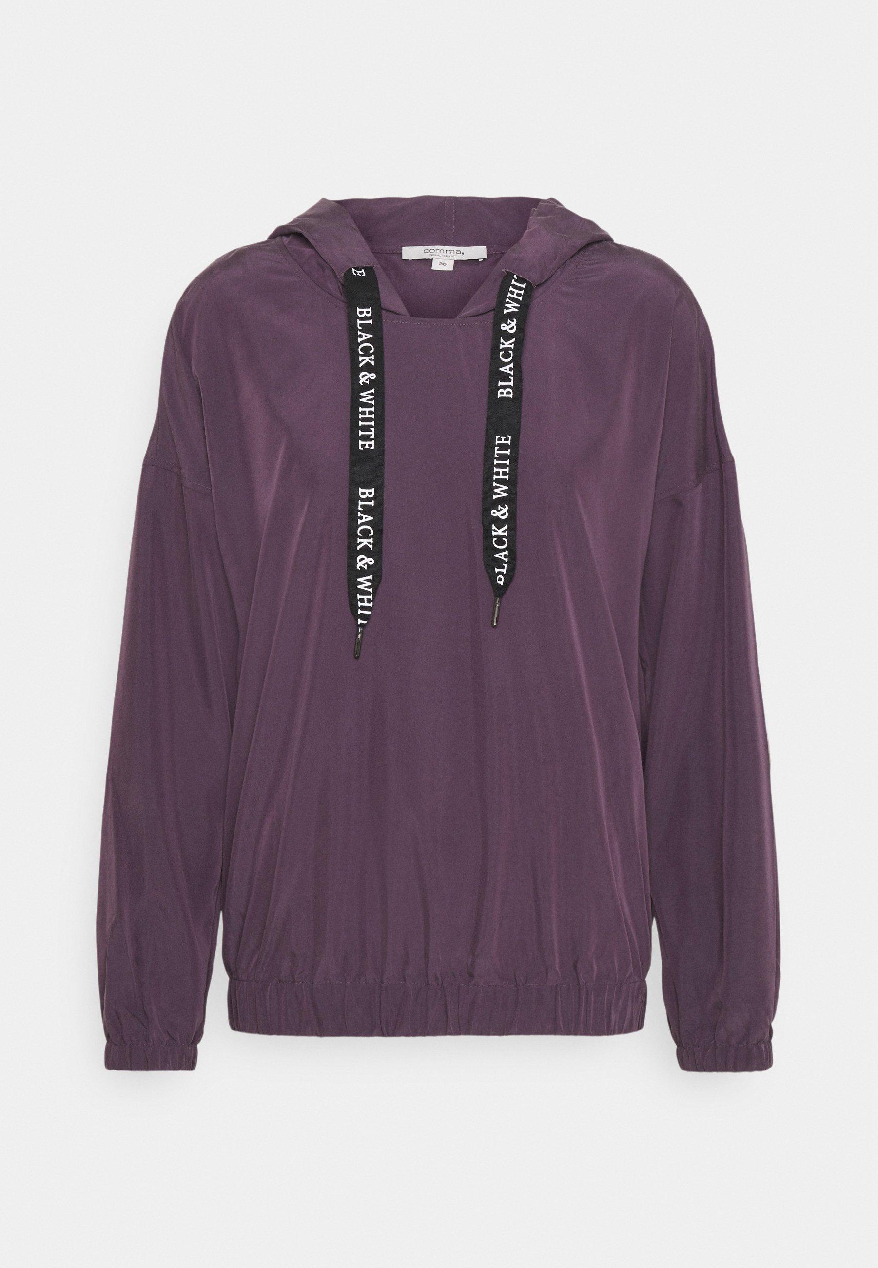 Women Long sleeved top - purple