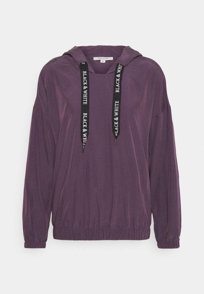 comma casual identity - Long sleeved top - purple