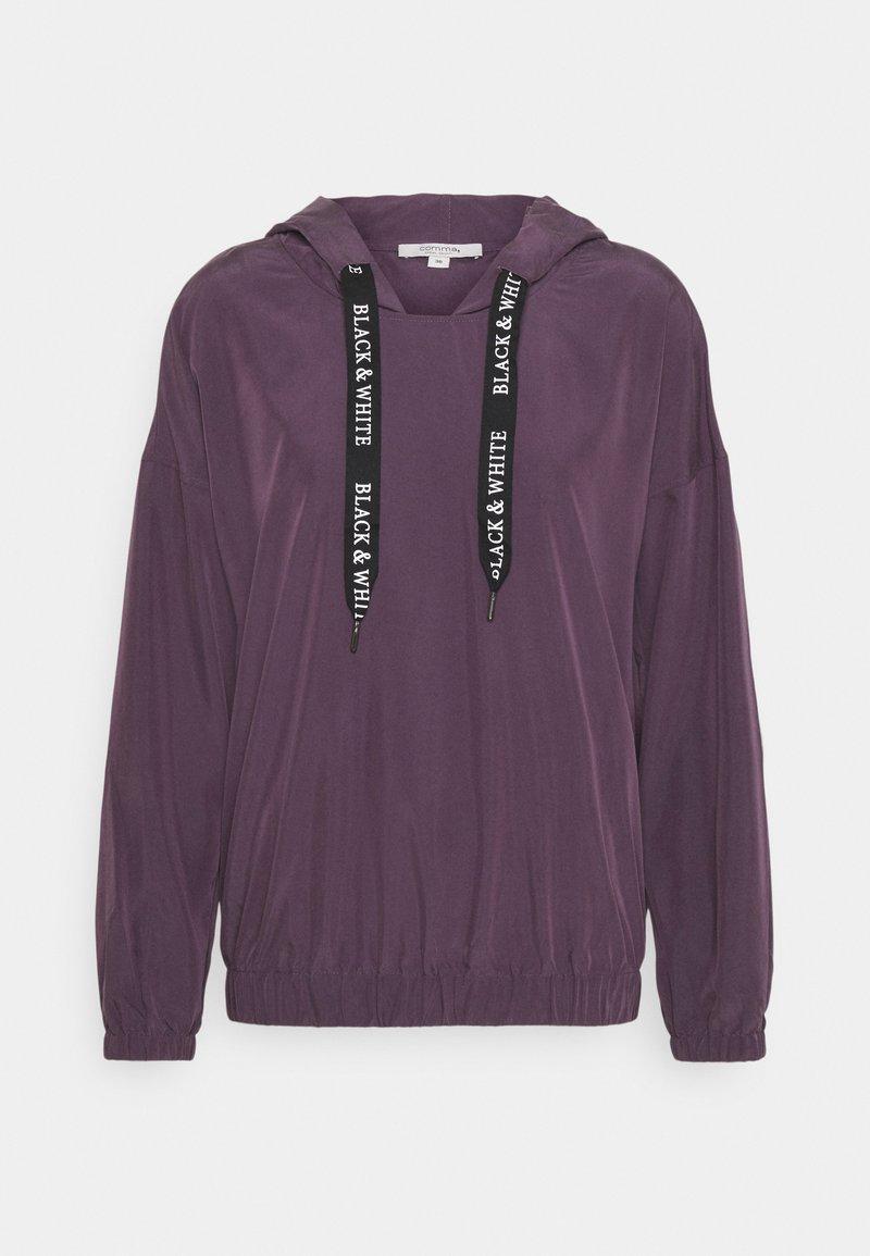 comma casual identity - Bluzka z długim rękawem - purple