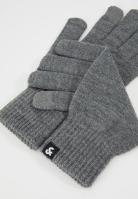 Jack & Jones - JACBARRY GLOVES - Guantes - grey melange - 3