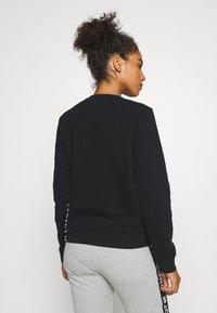 Björn Borg - HELENA CREW - Sweatshirt - black beauty - 2
