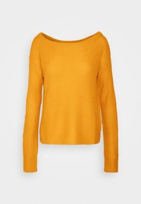 Missguided - OPHELITA OFF SHOULDER JUMPER - Trui - mustard - 3