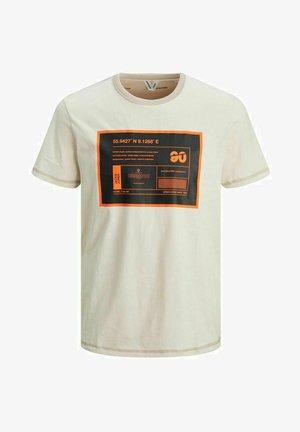 T-shirt print - silver