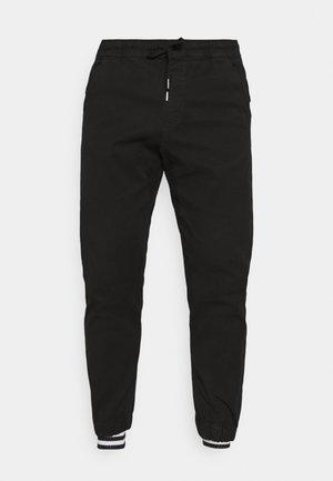 PANTS - Trousers - black