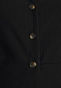 Glamorous Bloom - FRIDAY LONG SLEEVES BUTTON FRONT DRESS - Jumper dress - black - 2