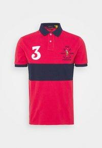 BASIC - Polo shirt - sunrise red/multi