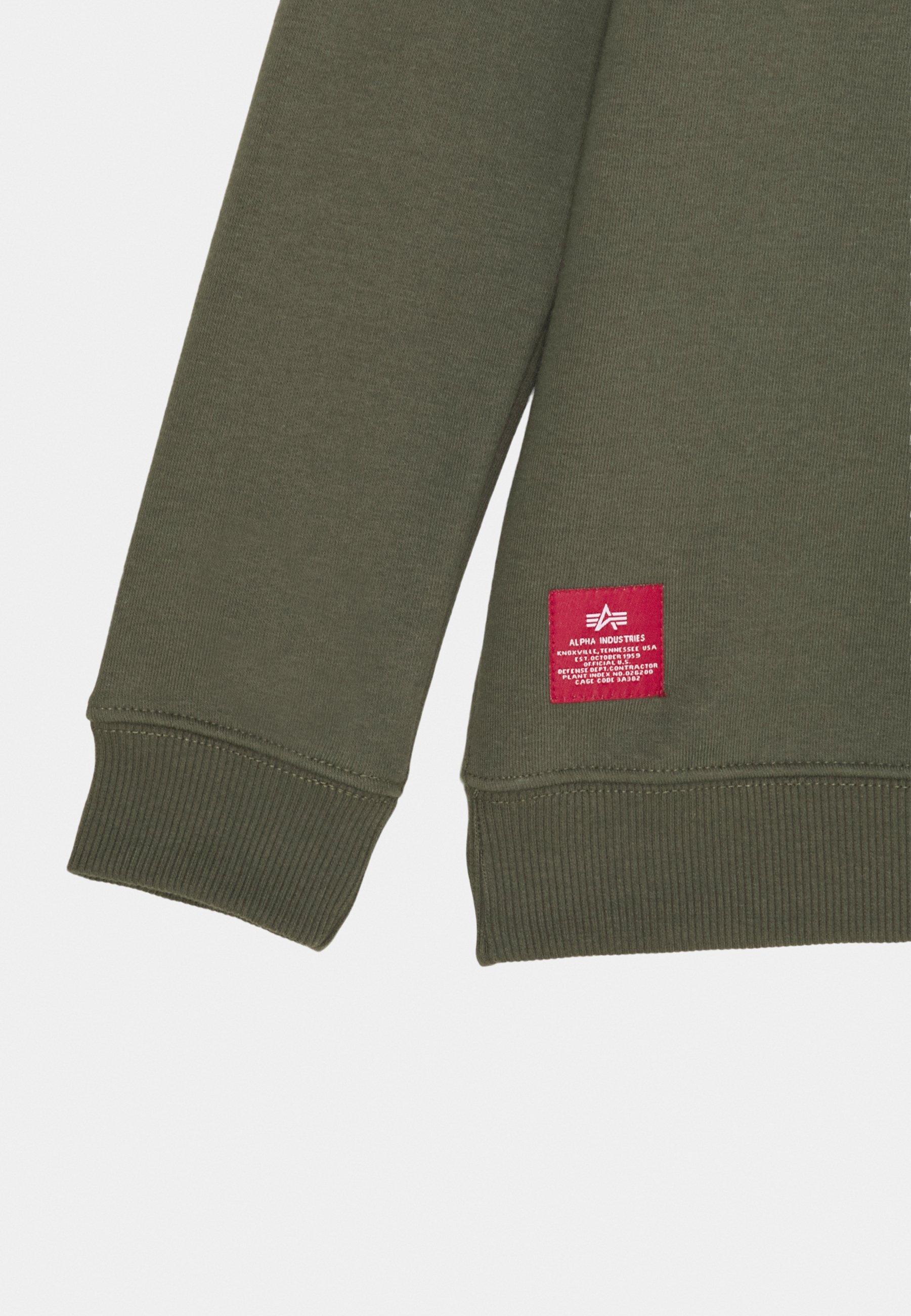 Classic Wholesale Alpha Industries BASIC KIDS TEENS - Sweatshirt - dark olive   kids's clothing 2020 txVzQ