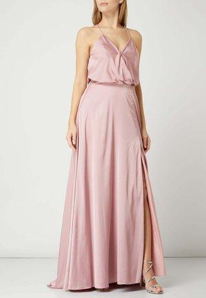 SATIN - Maxi dress - hellrosa
