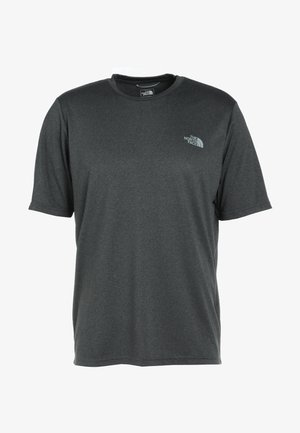 MENS REAXION AMP CREW - T-shirts - dark grey heather