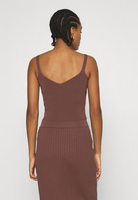 Forever New - ALIZA CAMI TANK - Top - chocolate - 2