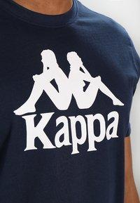 Kappa - CASPAR - T-shirt con stampa - navy - 5