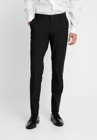 Bertoni - LAPEL TUX - Suit - black - 4