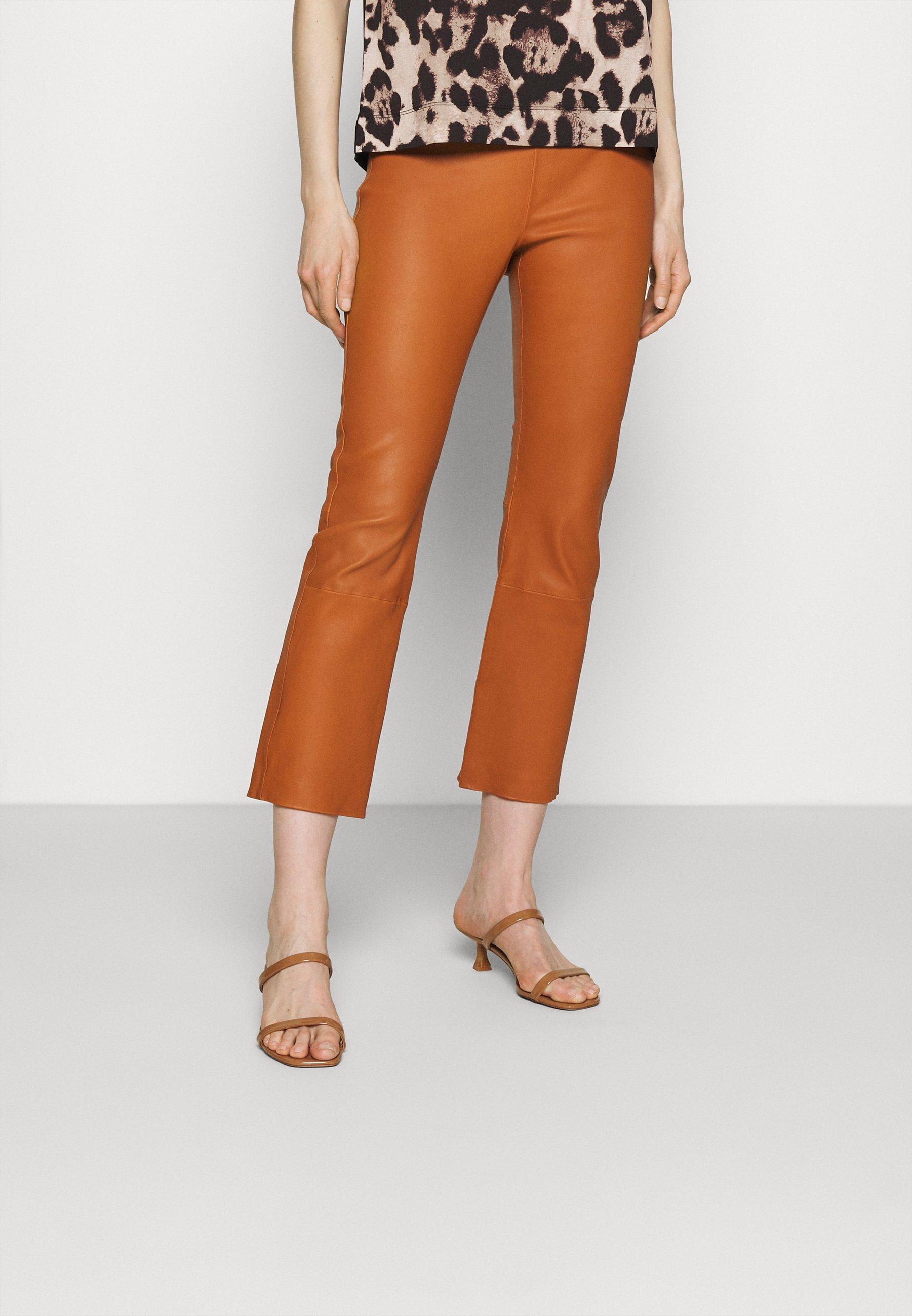 Women CEDAR PANT - Leather trousers